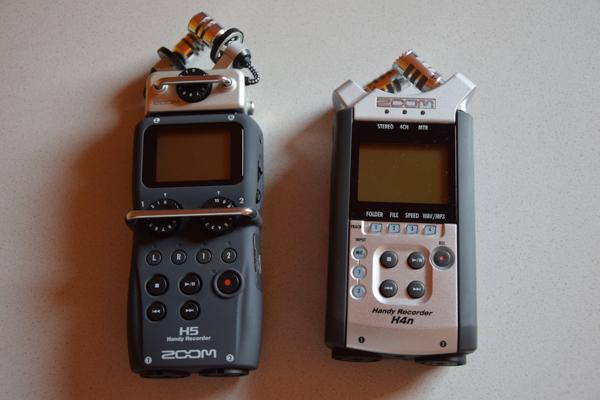 Zoom H5 vs Zoom H4n – Zestawienie cyfrowych rejestratorów dźwięku